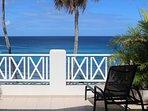 Blue Caribbean Sea...