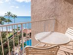 Views of the beautiful blue pacific and Royal Kahana's ocean front swimming pool