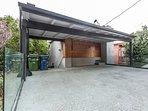 Outside View/Garage
