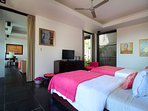 Upper Level Twin Bedroom, Villa Soma, Jimbaran Bali