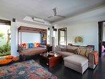 Upper Level Living Room Villa Soma