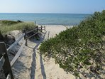 Only a 10-minute walk to this beautifully secluded section of popular Skaket Beach on Cape Cod Bay in Orleans.