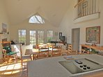 The very social, open floor plan includes the kitchen, dining and living areas. Prepare meals while you share the...