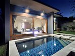 view pool villas