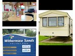 Extremely well maintained 2 bed caravan,situated on withernsea sands Holiday  resort.