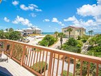 The ocean facing balconies provide tranquil views of the lush landscaping and Atlantic Ocean!