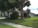 Front of house, mature corner lot!!