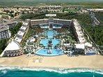 Over view of resort