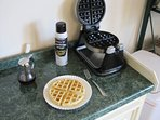 Complimentary Texas Buttermilk Waffles, 24/7 in Upstairs Lounge