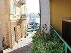 La vista dal terrazzo, Cala Gavetta, La Maddalena