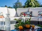 lovely outdoor furniture pieces