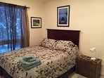 Lower Queen Bedroom with Ensuite.
