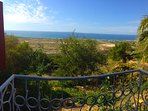 Balcony with panoramic view on Taghazout Bay