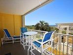 Balcony Gulf Dunes 114 Fort Walton Beach Florida Okaloosa Island