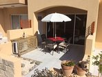Relax, dine or entertain on the pretty patio ...BBQ provided