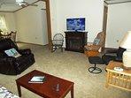 Easy relaxing living room atmosphere.
