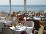 Have Lunch or Dinner with sea views, and a sea breeze.
