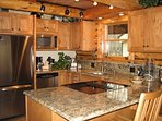 A beautiful kitchen to make homemade meals for you & your guests.