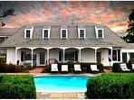 Kingsbay 'Bayhouse' Vacation Rental or otherwise known as the West-Wing. Theater, Bar rooms 5BR 3BA.