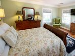 The Preimer Queen Bedroom Suite is on the second floor right next to the elevator with water view.