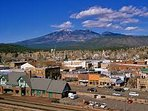 View of the town of Flagstaff