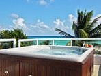 Your private ocean view terrace with Jacuzzi (non-heated)