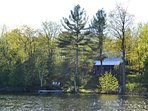 Cottage from Lake Opinicon
