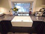 Kitchen sink/window