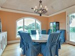 Formal Dining Area is Terrific!