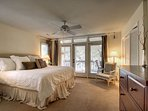 Master Bedroom Featuring King Bed