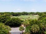 Bonus Deck! Looking Over #12 Links Golf Course!
