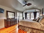 Master Bedroom with Huge King Bed