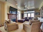 Newly Furnished Living Area, Wonderful!