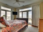 Second Master Bedroom, Oceanfront Views!