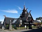 Viking village in Hafnafjordur