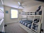 Bedroom 3 - bunk - sleeps 5 with double trundle