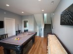 Recreation - Game Room Located on the 1st Level