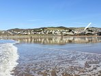 Marine View Woolacombe Holiday Cottages Apartment From Beach