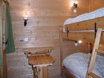 Bedroom 3 with 1 bunk bed