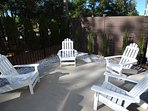 Backyard Patio Area at Beacon Villa 1084-A