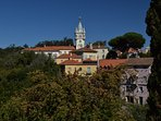 The beautiful town of Sintra