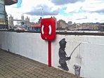 Banksy woz 'ere.
