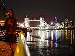 Difficult to get bored of the view of Tower Bridge at night.