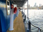 Front lower riverside deck