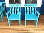 More upper deck furniture.