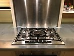 Neff gas hob and oven.