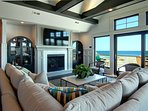 Great Room with Ocean Views Located on 2nd Level