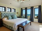 Master Suite 1 with Ocean Views Located on 2nd Level