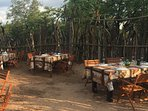 Bush experience: a boma for special occasions