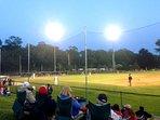 Close to Cape league base ball field